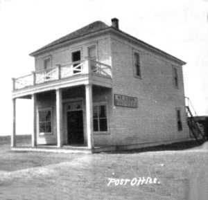 First Post Office, 1912, 235 W. Lubbock