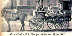1912 G.L. Sledge Transfer, Sledge family