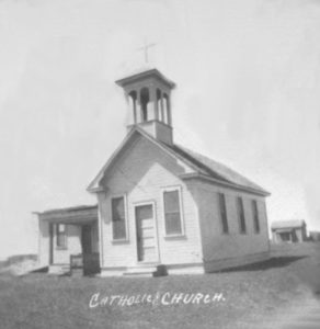 1920s Slaton Catholic Church