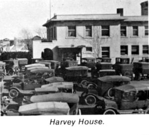 Slaton Harvey House, 1920s