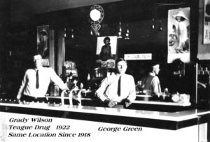 Teague Drug, 1922
