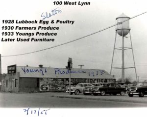 100 W. Lynn, 1928 to late 40s