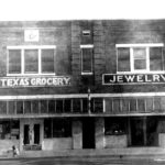 Texas Grocery, 1949-53 N. side of Slaton square