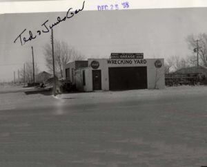 1955 Ted & Juels Garage