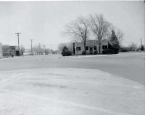 1957, Dr. W.E. Payne's Office
