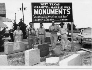 West Texas Monument, 1960s