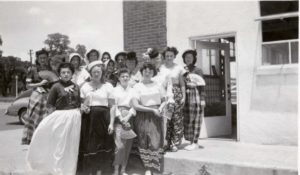 Slaton's 50th Anniversary, 1961, Slaton ladies