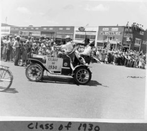 1961 Slaton 50th Anniversary, parade