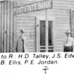 First State Bank. June 1911, maybe 225 W.Garza