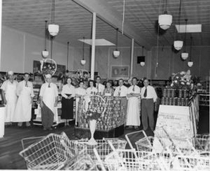 Slaton Super Market, early days