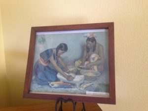 Slaton Harvey House Native American artwork