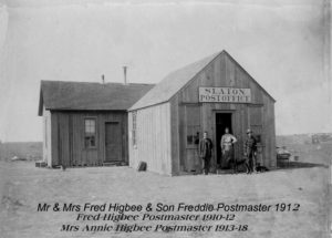 1910 to 12 245 S. 9th Slaton Post Office