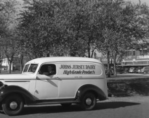 1940s Johns Dairy truck