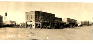 Old Slaton panoramic photo, 1923